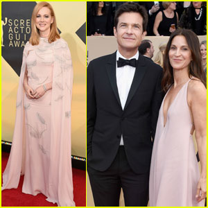 Laura Linney & Jason Bateman Bring 'Ozark' to SAG Awards 2018