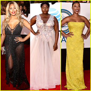 OITNB's Laverne Cox, Danielle Brooks, & Samira Wiley Glam Up for NAACP Image Awards 2018