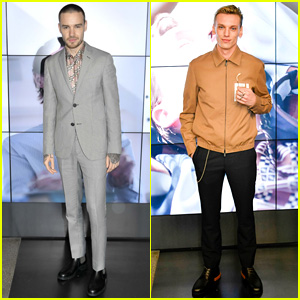 Liam Payne & Jamie Campbell Bower Are So Suave for Fendi Show