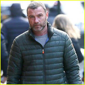 Liev Schreiber Takes His Cute Pup for a Walk in NYC!