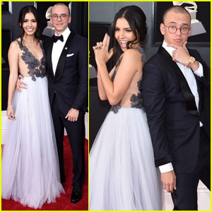 Logic Couples Up With Wife Jessica Andrea on Grammys 2018 Red Carpet!