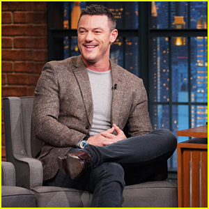 Luke Evans Recalls Awkward Moment with Dame Helen Mirren on 'Late Night'!