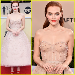 Madeline Brewer Clears Up Nick Jonas Dating Rumors at SAG Awards 2018