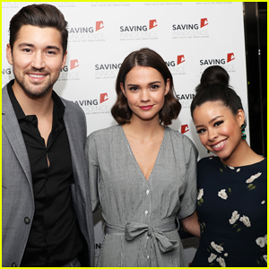 Maia Mitchell Gets Support From 'The Fosters' Co-star Cierra Ramirez at Saving Innocence Benefit!