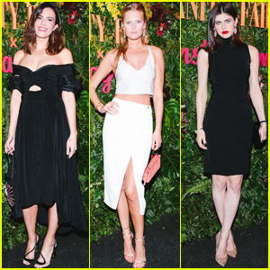 Mandy Moore, Toni Garrn & Alexandra Daddario Celebrate Golden Globes With Vanity Fair