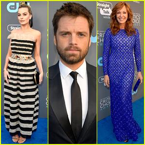 Margot Robbie, Allison Janney, & Sebastian Stan Rep 'I, Tonya' at Critics' Choice Awards 2018!