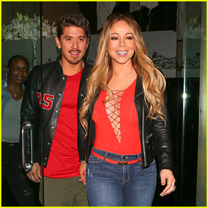 Mariah Carey & Boyfriend Bryan Tanaka Make a Stylish Pair While Out to Dinner!