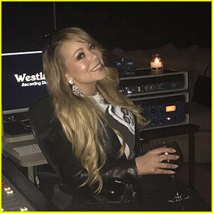 Mariah Carey Is Back in the Recording Studio!