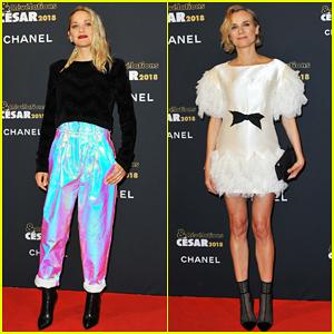 Marion Cotillard & Diane Kruger Put On Their Best for César Revelations 2018 Party!