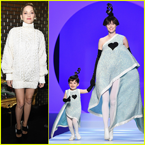 Marion Cotillard Watches Coco Rocha's Daughter Ioni Make Her Paris Runway Debut!