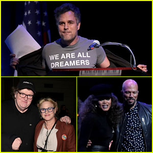 Mark Ruffalo Joins Patricia Arquette, Andra Day, & More Stars at 'People's State Of The Union'