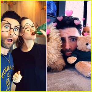 Maroon 5 Debut Snapchat-Filter Themed 'Wait' Music Video - Watch Here!