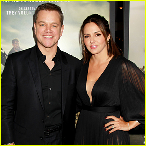 Matt Damon Supports His BFF Chris Hemsworth at '12 Strong' Premiere!