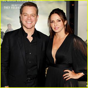 Matt Damon Supports His BFF Chris Hemsworth at '12 Strong' Premiere!