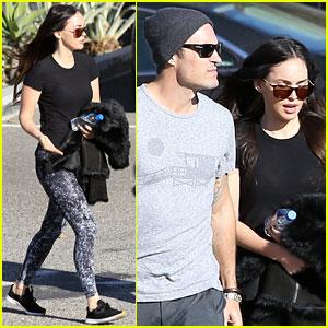 Megan Fox & Brian Austin Green Couple Up for Malibu Shopping Trip