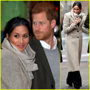 Meghan Markle & Prince Harry Make First Official Appearance of 2018