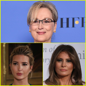 Meryl Streep Calls Out Melania & Ivanka Trump For Silence Over Sexual Misconduct
