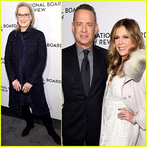 NBR's Best Actor & Actress, Tom Hanks & Meryl Streep, Attend the Awards Gala!