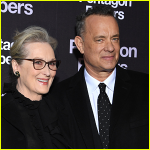 Meryl Streep & Tom Hanks Premiere 'The Post' in Paris