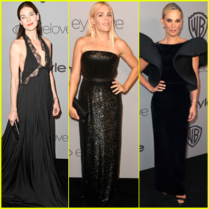 Michelle Monaghan, Busy Philipps, & Molly Sims Dazzle at InStyle's Golden Globes 2018 After-Party