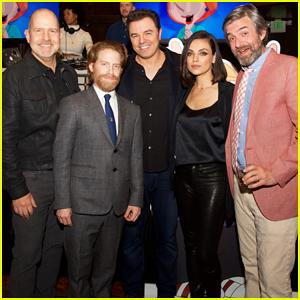 Mila Kunis Joins Seth MacFarlane & 'Family Guy' Cast at 300th Episode Celebration!