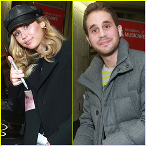 Miley Cyrus & Ben Platt Auction Off Items for Grammys 2018 Charities