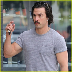 Milo Ventimiglia Shows Off His Bulging Biceps in Hollywood
