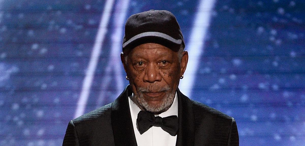 Morgan Freeman Paused His Sag Awards Speech To Speak To This Actress Morgan Freeman Newsies