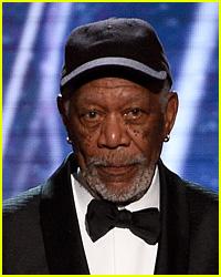 Morgan Freeman Paused His SAG Awards Speech to Speak to This Actress