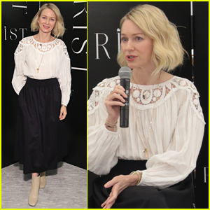 Naomi Watts Joins Wellness Panel at Saks Fifth Avenue in NYC