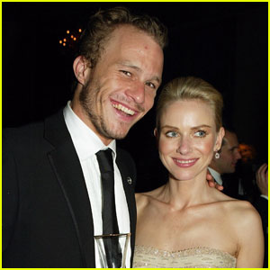 Naomi Watts Shares Touching Tribute to Heath Ledger
