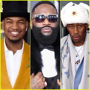 Ne-Yo Joins Rick Ross & Tyler the Creator at Grammys 2018