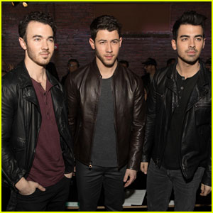 Jonas Brothers Reunite to Support Nick at John Varvatos Event