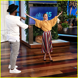 Nicole Richie Gets a Dance Lesson From tWitch on 'Ellen' - Watch Now!