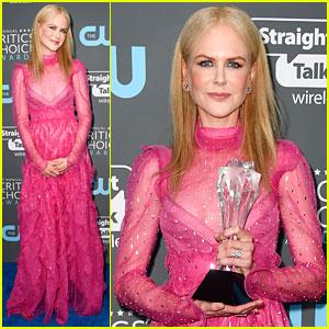 Nicole Kidman Wins Best Actress for 'Big Little Lies' at Critics' Choice Awards 2018