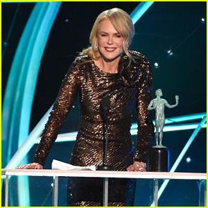 Nicole Kidman Wins Her First Ever SAG Award at SAG Awards 2018!