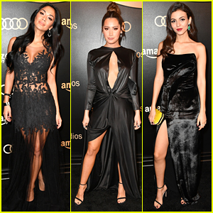 Nicole Scherzinger, Ashley Tisdale, & Victoria Justice Glam Up for Globes Parties!