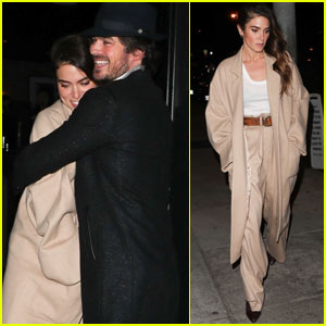Nikki Reed & Ian Somerhalder Couple Up For Date Night!
