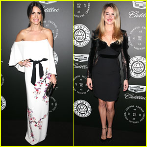 Nikki Reed & Shailene Woodley Hit Up Art of Elysium Gala