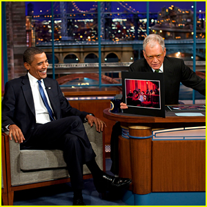 Barack Obama Will Be David Letterman's First Guest on His New Netflix Talk Show!