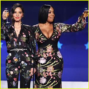 Olivia Munn & Niecy Nash Call Out Mark Wahlberg's Big Payday at Critics' Choice Awards 2018