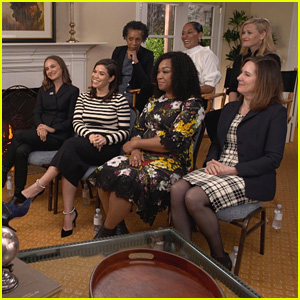 Reese Witherspoon, Natalie Portman, America Ferrera & More Talk Time's Up With Oprah Winfrey