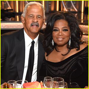 Oprah Winfrey's Partner Stedman Graham Joins Her at Golden Globes 2018!