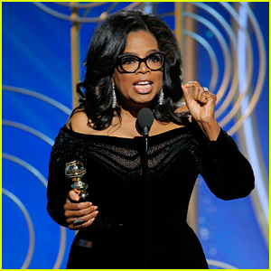 Oprah Winfrey Says 'Time's Up' in Powerful Golden Globes Speech (Video)