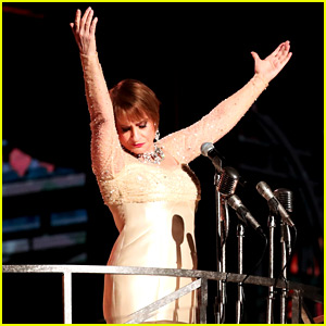 Patti LuPone Revives Her 'Evita' Performance at Grammys 2018!