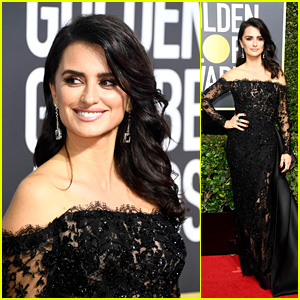 Penelope Cruz Looks Radiant on the Red Carpet at Golden Globes 2018!