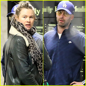 Pregnant Behati Prinsloo Goes for Doctor's Appointment with Husband Adam Levine
