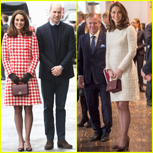 Pregnant Kate Middleton & Prince William Bring Mental Health Awareness to Sweden!