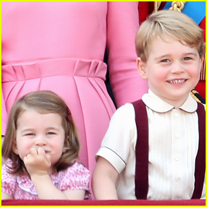 Queen Elizabeth Jokes That Princess Charlotte Bosses Older Brother Prince George Around!