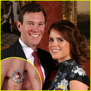 Princess Eugenie Shows Off Engagement Ring in Photo Shoot with New Fiance Jack Brooksbank!